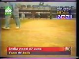 THE FINAL - IND V.S PAK - INDEPENDENCE CUP - 98 -6/9