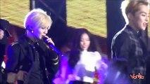 [EXO] Music Bank in HANOI - Taemin (SHINee), Kai (EXO) End.mp4