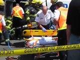Victoria Police Crash Team Vehicle Overturned