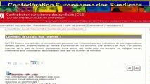 François ASSELINEAU - Les Escrocs - La Confédération Européenne des Syndicats