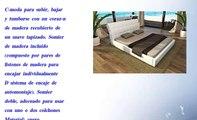 Camas de cuero cama para fut n blanco 200x200cm kingsize