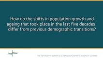 Population Europe Inter-Faces - Jane Falkingham