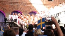 Swedish National Anthem performed at Stockholm City Hall during Citizenship ceremony