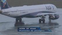 Companhias aéreas investem em promoções para driblar a crise