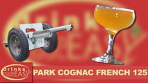 How To Make A Park Cognac French 125 (French 75 variation) Cocktail -Drinks Made Easy