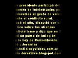 21 de Diciembre 2008 Nestor Kirchner en Biblioteca Nacional
