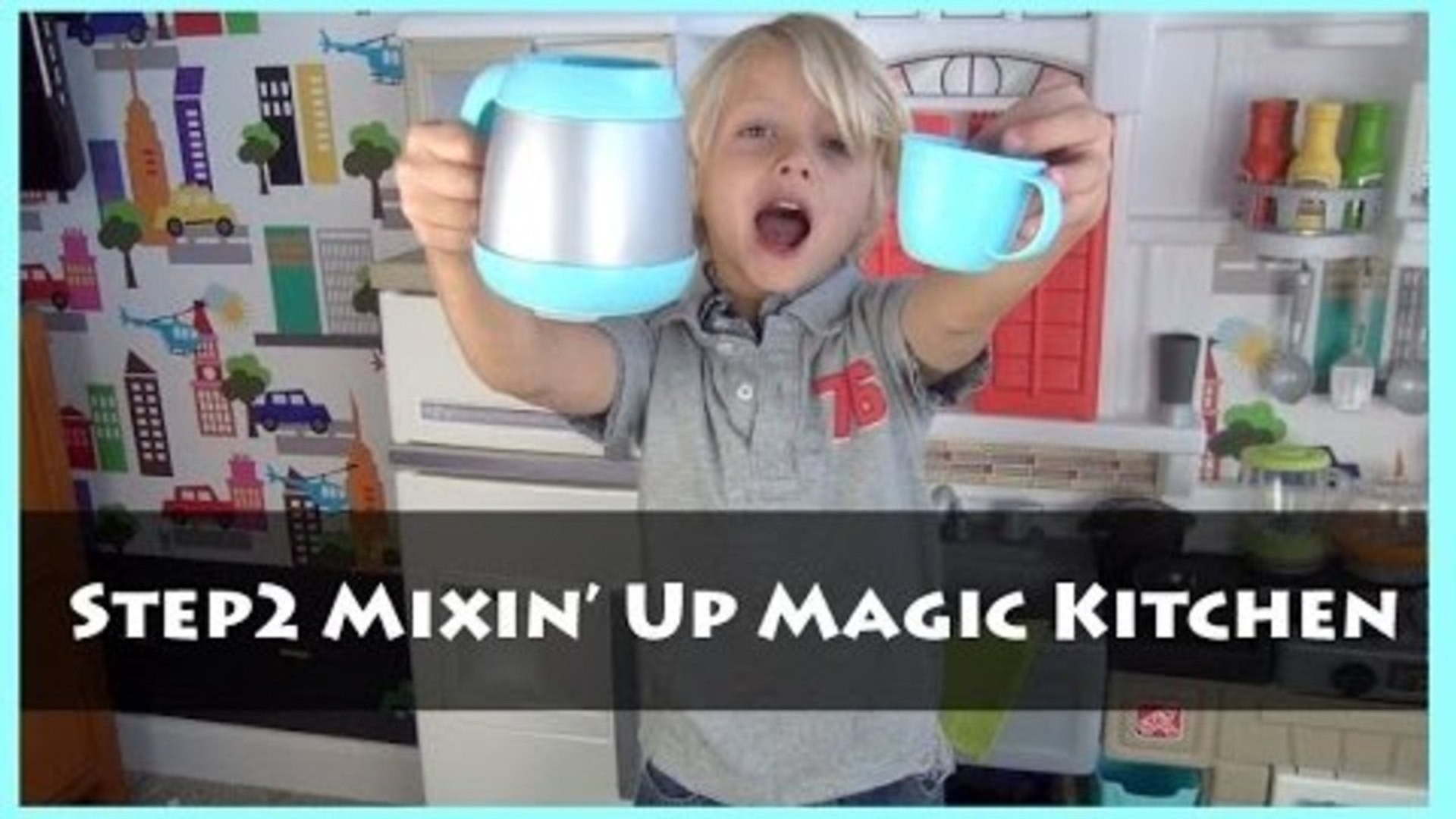 Step2 Mixin Up Magic Kitchen Unboxing And Review