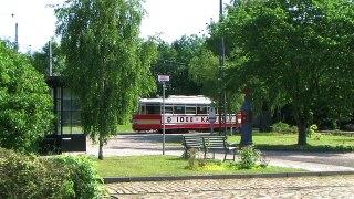 Hamburger Hochbahn V6E 3657 pa Sporvejsmuseet