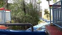 Disneyland Rides California Screamin' (Front Seat POV ) Disney California Adventure Anaheim 2015