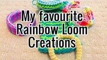 My Top 5 Rainbow Loom Creations - Bethany G