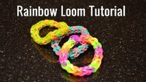 Rainbow Loom Tutorial - Quadruple Banded Single Bracelet - by Bethany G
