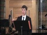 "Sean Sullivan: Songs of Travel Ralph Vaughan Williams ""The Vagabond"""