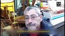 Jésus VU par les Juifs Israelien (micro-trottoir) 2000 ANS APRES Jean 15:21