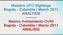 "UFO / OVNI: Massive UFO Sightings ""Bogota Colombia March 2011"" (ENG / ESP)"