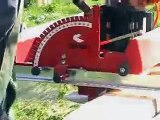 Cut wide boards or weatherboards with Small Portable Sawmill