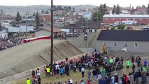 Semi-truck Jump World Record by jumping 50 meters in Montana