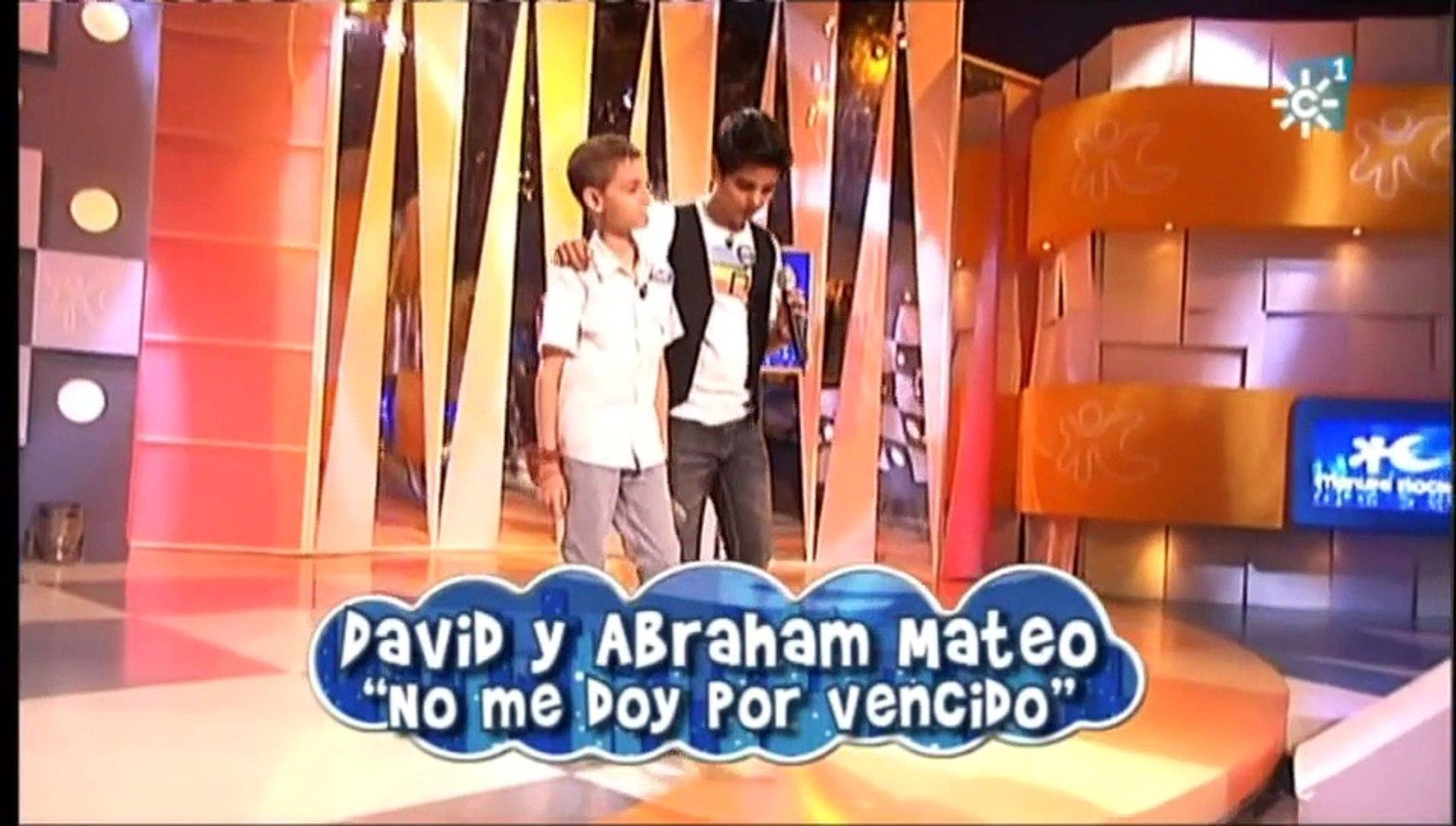 Abraham Mateo Y David Yo No Me Doy Por Vencido Luis Fonsi Menuda Noche Video Dailymotion