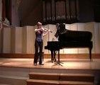 Carl Nielsen Preludio e presto for solo violin, Presto