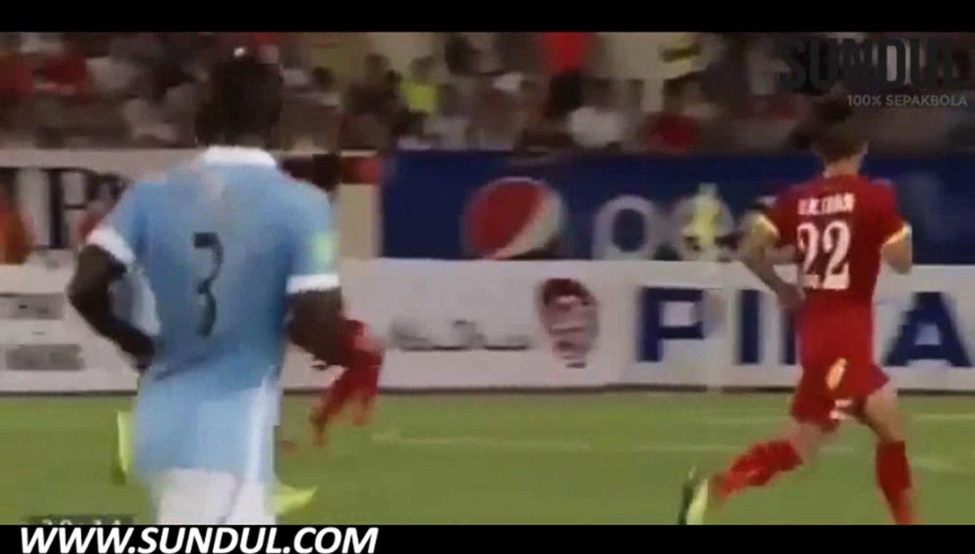 Friendly | Manchester City 8-1 Vietnam | Video bola, berita bola, cuplikan gol