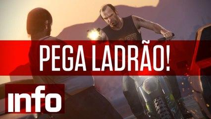 INFO Games: Pega Ladrão!