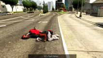 RedKeyMon - GTA 5 EPIC STUNTS FAILS GTA 5 Funny Moments & WTF