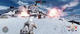 Star Wars Battlefront 3 - Empire Walker Assault on Hoth Lets Play (Official Alpha)