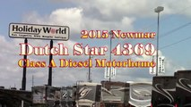 New 2015 Newmar Dutch Star 4369 Class A Diesel Motorhome RV - Holiday World of Houston in Katy, TX