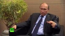 Vladimir Poutine estime que les prix Nobel devraient être remis à des gens comme Blatter