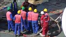 Hareket Project -Heavy Lifting-Lifting 292t column-Yemen 2007