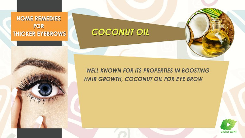 Home Remedies For Thicker Eyebrows | Best Beauty Tips | Educational Videos