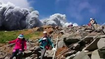 Video_ Japan volcano shoots rock & ash on Mount Ontake - BBC News-copypasteads.com