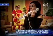 El encuentro de Marisel Linares con 'Arturito' en 'El Especial del Humor' avances 27 de julio 2011