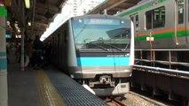 【JR東】京浜東北線 快速大船行 東京 Japan Tokyo JR Keihin-Tohoku Line Trains