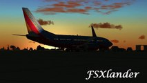 Microsoft Flight Simulator X- Southwest Airlines Flight WN3792 San Antonio, TX - Denver, CO