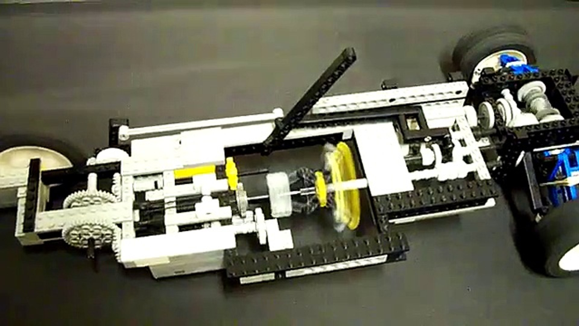 Automatic Lego Transmission Using A Fly Wheel Ugly Prototype 1 Video Dailymotion
