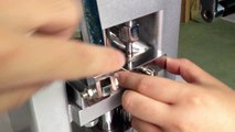 How to adjust the die mould on tablet press machine