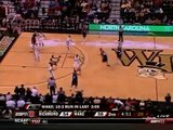 Richmond v. Wake Forest - 1 of 2 - 2009 Dec. 31 - Last 6 Minutes
