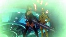Justice League: Crisis on Two Earths: Good --vs-- Evil Battle Clip 2010