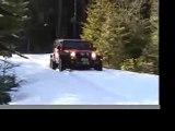 HUMMER H1 ALPHA & Jeep Rubicon  - Snow Trek  - 3rd Upload
