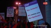 Grote staking detentiecentrum Alphen aan den Rijn