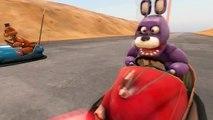 [SFM FNAF] Bonnie Learns to Drive! (Five Nights at Freddy's)
