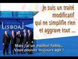 16/16 Traité modificatif de Lisbonne par Raoul Marc Jennar