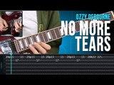Ozzy Osbourne - No More Tears (como tocar - aula de guitarra)