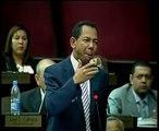 Abucheo a diputado PRSC durante sesión en la Camara de Diputados