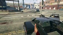 GTA 5 PS4-Xbox One – GOD MODE IN FIRST PERSON! GTA 5 Next Gen Invincibility Cheat Code! GTA V)