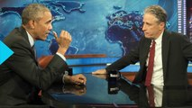 Jon Stewart Secretly Visited Barack Obama in White House