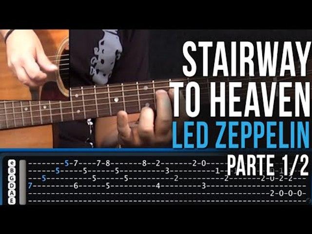 Stairway To Heaven - Led Zeppelin - Parte 1/2 (como tocar - aula de violão)