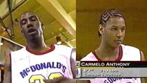 Carmelo Anthony Beats Amare Stoudemire in 2002 High School Dunk Contest