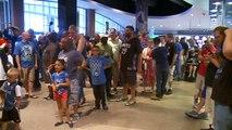 Fans Celebrate As Wolves Take Towns, Trade For Tyus Jones