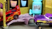 Disney Pixar Cars Lightning McQueen, Mater, Ramone, Guido & Luigi play Hide-and-go-seek